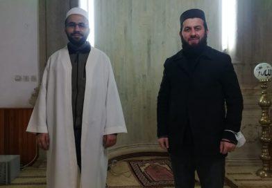 Merkez camii imam-hatibi göreve başladı